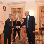 Courtesy Call on ESM Goh Chok Tong of Singapore