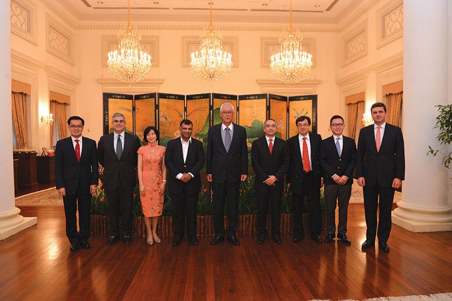 Courtesy Call on ESM Goh Chok Tong of Singapore