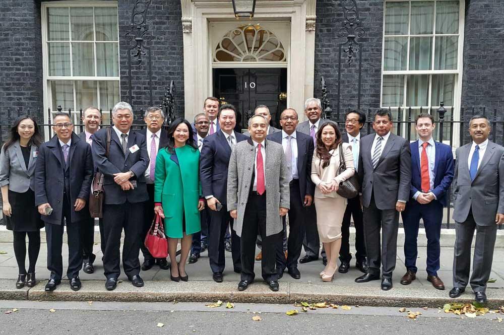 Delegation to UK