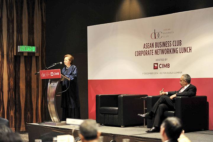 Address by Tan Sri Dr. Zeti Akhtar Aziz Governor Bank Negara Malaysia at Asean Business Club Corporate Networking Lunch