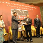 Launch of Lifting-The-Barriers Reports 2015