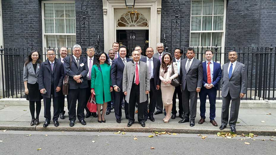 Delegation to UK