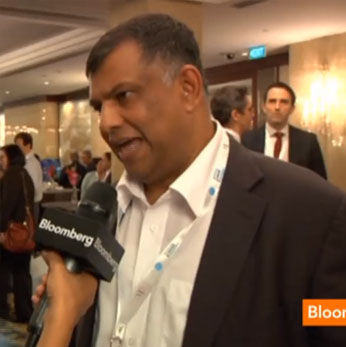 Tony Fernandes, Group Chief Executive Officer of AirAsia Bhd., the region's biggest budget airline, talks about the company's financial results, profit outlook and expansion strategy. He spoke with Bloomberg Television's Haslinda Amin in Singapore on Aug. 23.