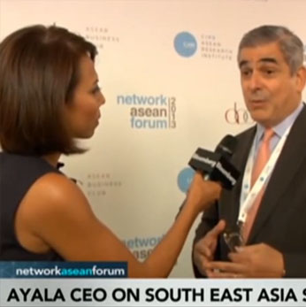 Jaime Augusto Zobel de Ayala,Chief Executive Officer at Ayala Corp., talks about the economic outlook for Southeast Asia, foreign direct investment in the Philippines, and the country's currency.